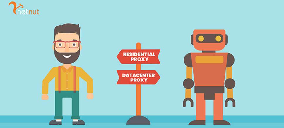 residential proxy vs datacenter proxy