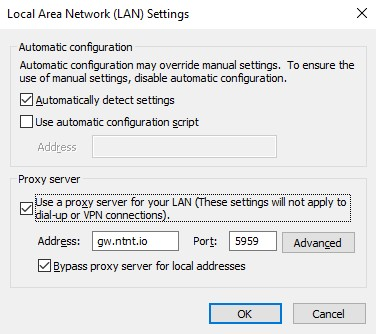 How to Configure Proxy Settings on Internet Explorer