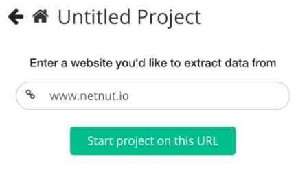 Configure proxy setting on Parsehub - netnut residential proxy network 1